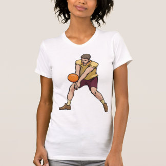 Volleyball Player Womens T-Shirt