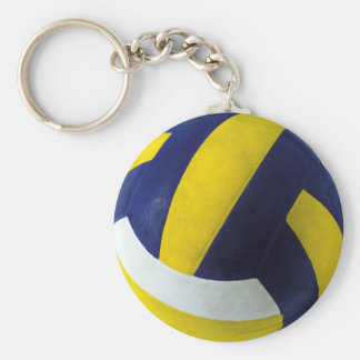 VOLLEYBALL PORTE-CLÉ ROND