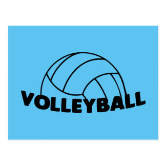 Volleyball Postcard