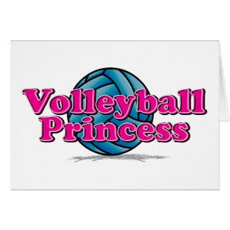 Volleyball Princess Card