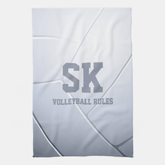 Volleyball Rules | Sport Gift Kitchen Towel