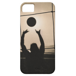 Volleyball Silhouette iPhone 5 Case
