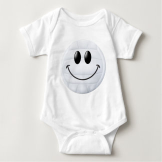 Volleyball Smiley Face Baby Bodysuit