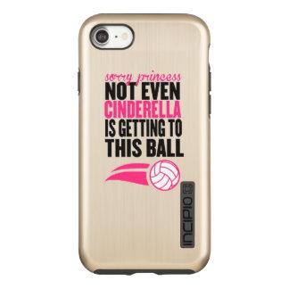 Volleyball: Sorry Princess Ball Incipio DualPro Shine iPhone 7 Case