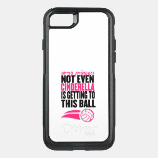 Volleyball: Sorry Princess Ball OtterBox Commuter iPhone 8/7 Case