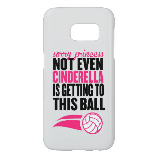 Volleyball: Sorry Princess Ball Samsung Galaxy S7 Case
