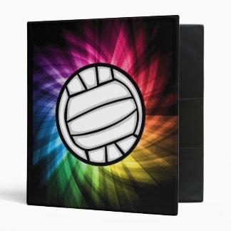 Volleyball; Spectrum Vinyl Binder