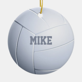Volleyball Sport Fan Ceramic Ornament