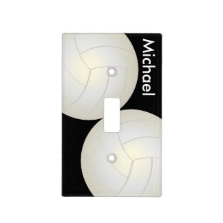 Volleyball Sport Style | DIY Name Light Switch Cover