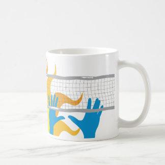 Volleyball Sunset Coffee Mug