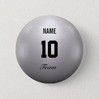 Volleyball Team 2 Inch Round Button