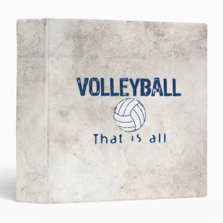 Volleyball, That Is All Binder