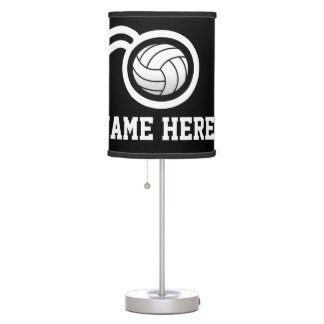 Volleyball theme table lamp design | Personalized