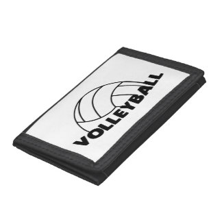 Volleyball Tri-fold Wallets