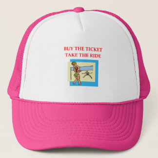 volleyball trucker hat