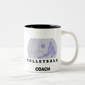 Volleyball Two-Tone Coffee Mug