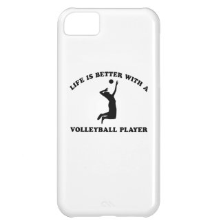 Volleyball Vector Designs iPhone 5C Covers