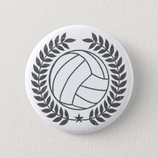 VolleyBall Vintage Graphic 2 Inch Round Button