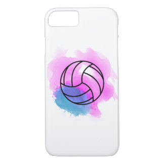 Volleyball Watercolor iPhone 8/7 Case