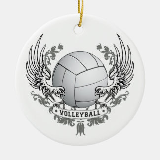 Volleyball Wings Ornament