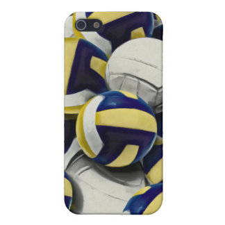 Volleyballs Collage iPhone 5/5S Cover
