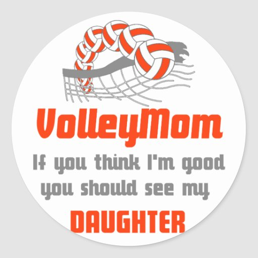 VolleyChick Family You should see Mom/Daughter Sticker