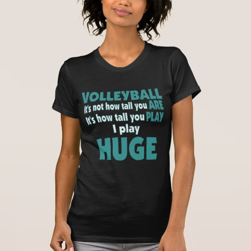 VolleyChick Huge Shirts