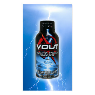 Volt Lightning Biz Card Business Card Templates