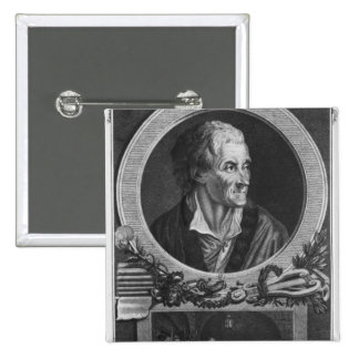Voltaire and the Calas affair 2 Inch Square Button