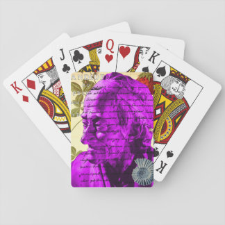 Voltaire Writer Philosopher Paris France Shell Playing Cards