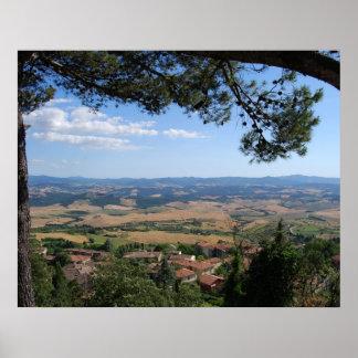 Volterra, Tuscany Poster