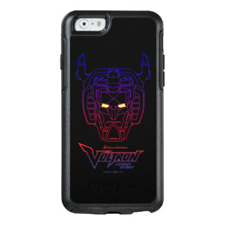Voltron | Blue-Red Gradient Head Outline OtterBox iPhone 6/6s Case