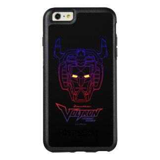 Voltron | Blue-Red Gradient Head Outline OtterBox iPhone 6/6s Plus Case