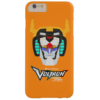 Voltron | Colored Voltron Head Graphic Barely There iPhone 6 Plus Case