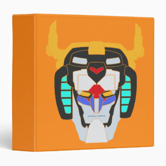 Voltron | Colored Voltron Head Graphic Binder