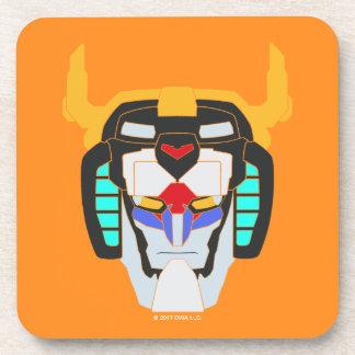 Voltron | Colored Voltron Head Graphic Coaster