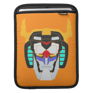 Voltron | Colored Voltron Head Graphic iPad Sleeve