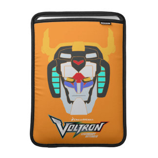 Voltron | Colored Voltron Head Graphic MacBook Sleeve