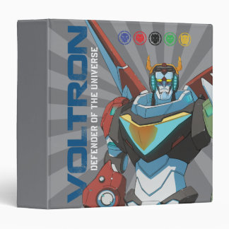 Voltron | Defender of the Universe 3 Ring Binders