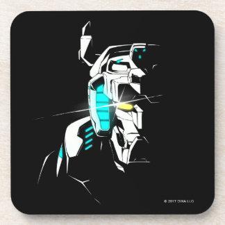 Voltron | Gleaming Eye Silhouette Coaster