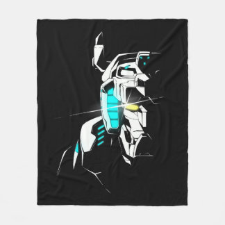 Voltron | Gleaming Eye Silhouette Fleece Blanket