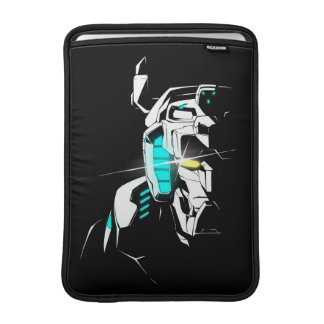 Voltron | Gleaming Eye Silhouette MacBook Sleeve