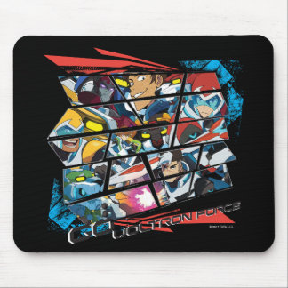 Voltron | Go Voltron Force Mouse Pad