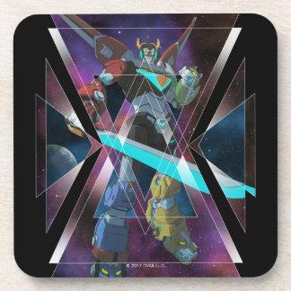 Voltron | Intergalactic Voltron Graphic Coaster