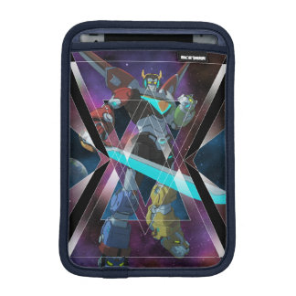 Voltron | Intergalactic Voltron Graphic iPad Mini Sleeve