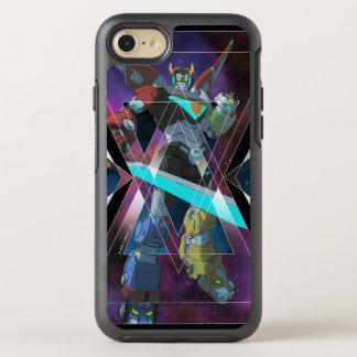 Voltron | Intergalactic Voltron Graphic OtterBox Symmetry iPhone 8/7 Case