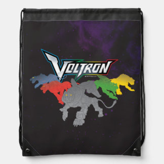 Voltron | Lions Charging Drawstring Bag