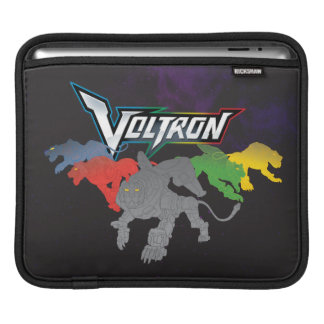 Voltron | Lions Charging iPad Sleeve