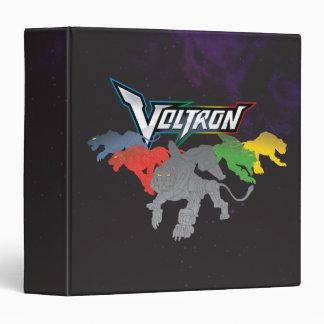 Voltron | Lions Charging Vinyl Binder