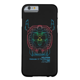 Voltron | Pilot Colors Gradient Head Outline Barely There iPhone 6 Case